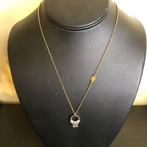 Juicy Couture Gold Necklace Silver Ring